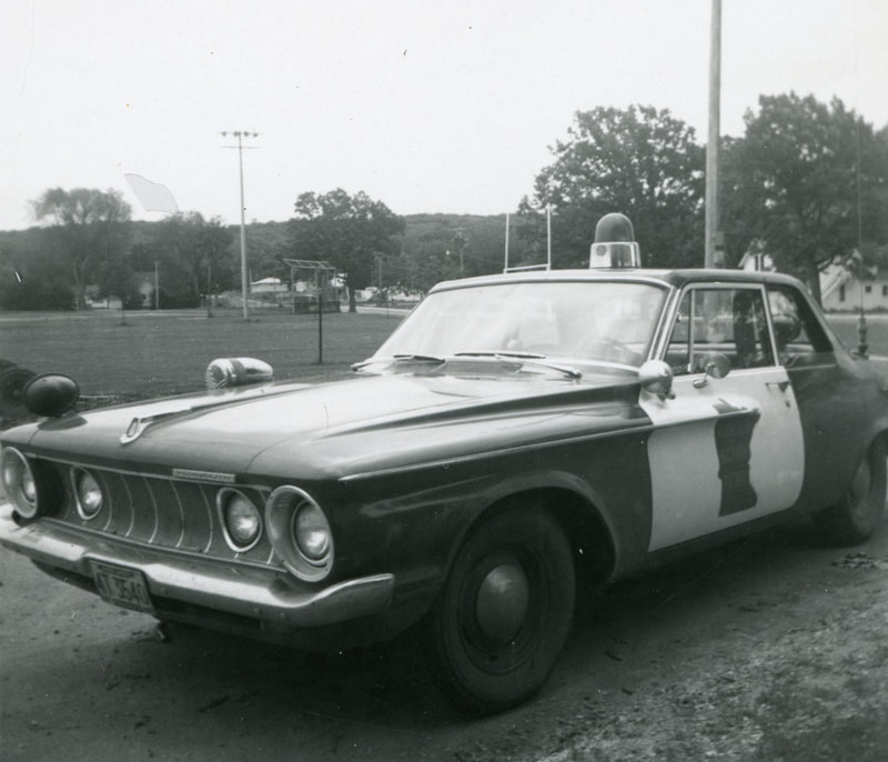 Left front view of 1962 Plymouth. Scott Reichel Collection