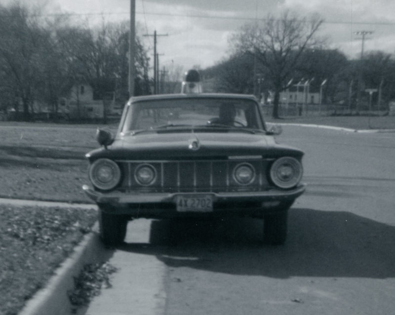 Front view of 1962  Plymouth. Scott Reichel Collection